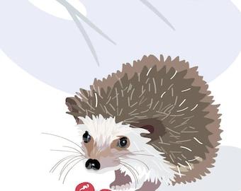 Mr Hedgehog's Dinner