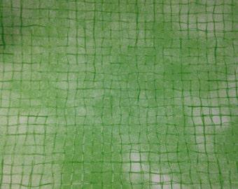 12x12 Provo Craft Green Wavy Plaid