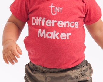 Tiny Difference Maker Onesie