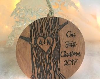 Christmas Ornament, First Christmas Ornament, Christmas Ornament Handmade, Christmas Ornament Personalized, First Christmas