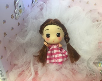 Cutsie Mini Doll,Dollhouse,Collector, worldwide shipping!