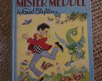Enid Blyton's.. Merry Mister Meddle. Dean and Son hardback book.