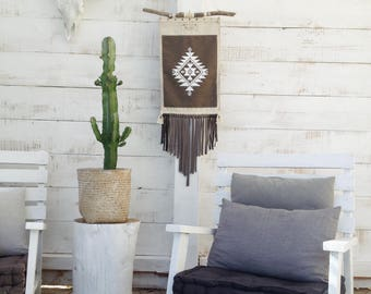 NAVAJO Decoration wall hanging decor Bohemian chic inspired Native American Indian South West