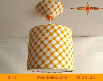 Little lamp dotted TILLY Ø20 cm pendant lamp with diffuser retro design