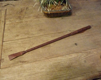 Woven Leather Riding Quirt -