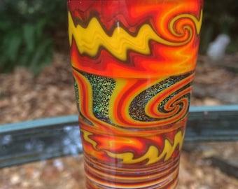 Handblown Dichroic Shot Glass
