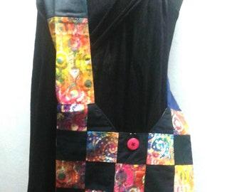 Cecelia patchwork purse