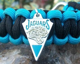 Jacksonville Jaguars Paracord Bracelet