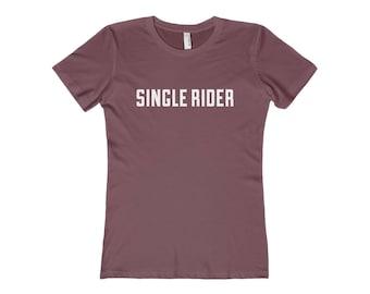 Single Rider - Womens Disney Shirt
