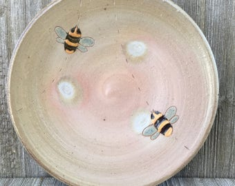 Small Plate, Sandwich Plate with Bees