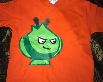 Plants vs Zombies shirts (different characters)