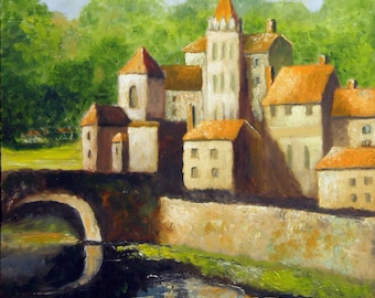 French Image 5 - Original French Landscape Oil Painting