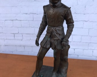 19th Century French Bronze Barbedienne Henry IV Statue