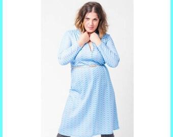 60's Blue Sky Dress