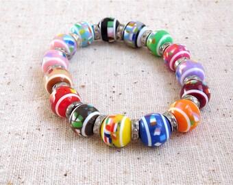 Colorful & Festive Bracelet (Item Z54)