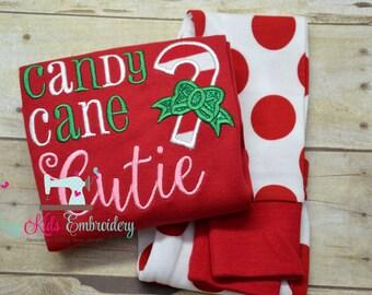 Christmas pajamas boy girl kid child baby toddler infant embroidery applique custom monogram name personalized santa train