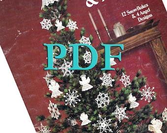 PDF - Crocheted Snowflakes & Angels - 1983