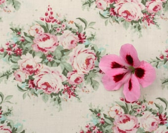 Tilda Sweetheart FQ / Tilda Collection / Floribunda White / Fat quarter