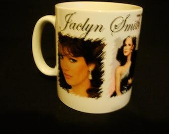 Classic Jaclyn Smith Mug Charlies Angels TV