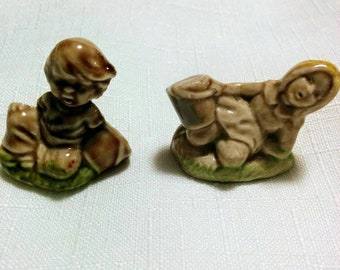 Wade Jack and Jill Whimsies Miniature Collectibles Made in England