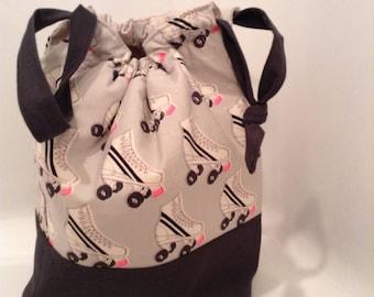 Knitting Bag, Crochet Bag, Project Bag, Sock Knitting Bag, Shawl Knitting Bag, Makeup Bag