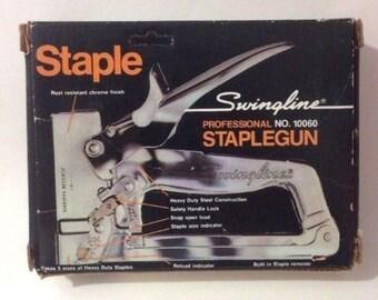 Swingline Professional Staple Gun No. 10060 in Original Box Made in the USA