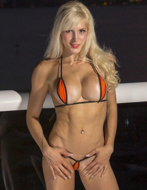In bikinis micro ladies beautiful