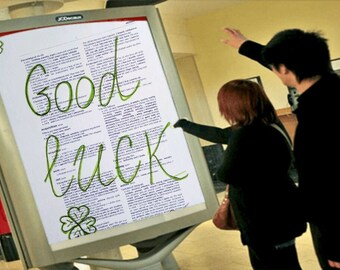Good Luck Print, Good Luck on Dictionary Background, Good luck for your home, Gift for her, for him, All occasions