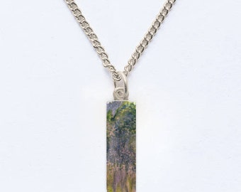 A Monet Memory Pendant Necklace