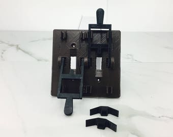 Gothic Lever Light Switch Cover | 3D Printed | Frankenstein Light Switch | Fathers Day Gift