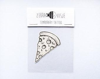 Temporary Tattoo - Pizza