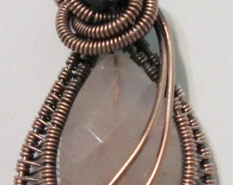 Tutorial for Wire Wrapped Drop Pendant