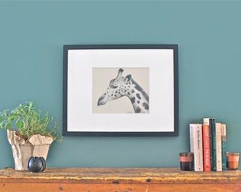 Giraffe : Print