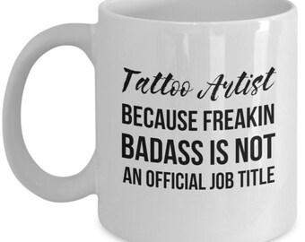 Tattoo Artist Gift, Tattoo Artist Mug, Gift For Tattoo Artist, Tattoo Gift, Funny Tattoo Gift, Tattoo Lover, Tattoo Gift Idea, Funny