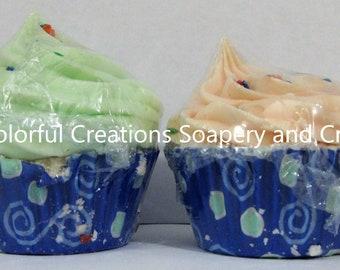 Citrus Scented Bath Bomb Cupcakes