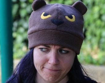 A Very Grumpy Bear Fleece Hat