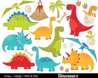 dinosaur clipart etsy rh etsy com Realistic Dinosaur Clip Art Realistic Dinosaur Clip Art