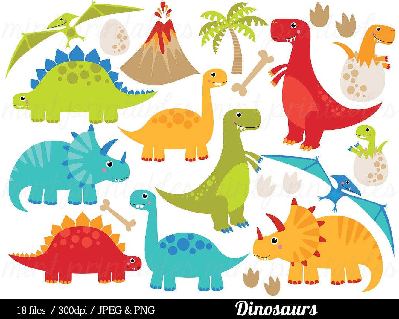 dinosaur clipart dinosaurs clip art tyrannosaurus rex rh etsy com free dinosaur clipart borders free dinosaur clip art borders