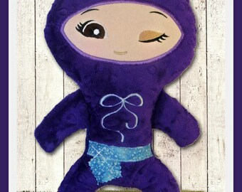 Ninja Doll custom made