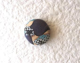 Polymer Clay Perle/Südwest Ecru