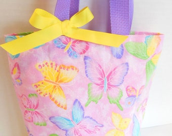 Sparkle Butterfly Tote/Gift Bag