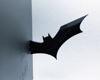 Batarang Magnet   3D Printed Toy Or Office Supplies
