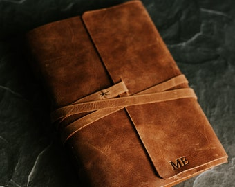 Anniversary gifts for men | Husband Gift | Gift for him | Mens leather journal | leather sketchbook | leather notebook