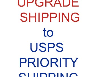 Priority Shipping Upgrade for your DISTINCTIVS Order