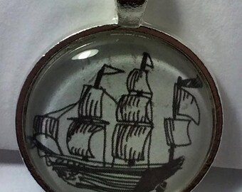 Come Sail Away Necklace
