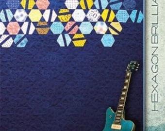 Zen Chic Hexagon Brilliance Quilt Pattern Quilting Sewing Fabric