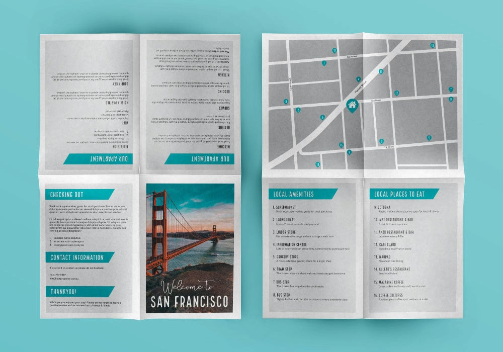 Sample Airbnb House Guide - 0425