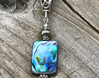 New Zealand abalone jewelry, Abalone necklace, abalone penant, seashell jewelry