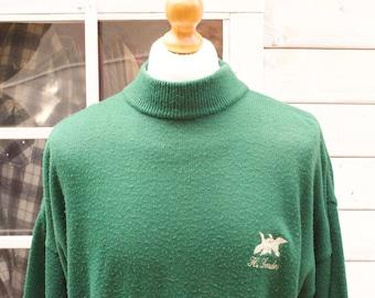 Vintage Polo Neck H.Landers Jumper Size - Extra Large