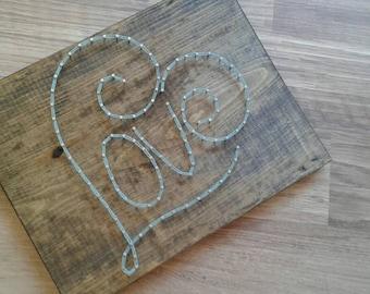 love string art, love art, string art love, heart string art, string art, love wall art, love wall decor, string art heart, wall art love,